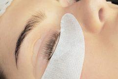 как красить ресницы щитки для глаз
