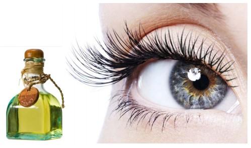 красивый макияж глаз с нарощенными ресницами