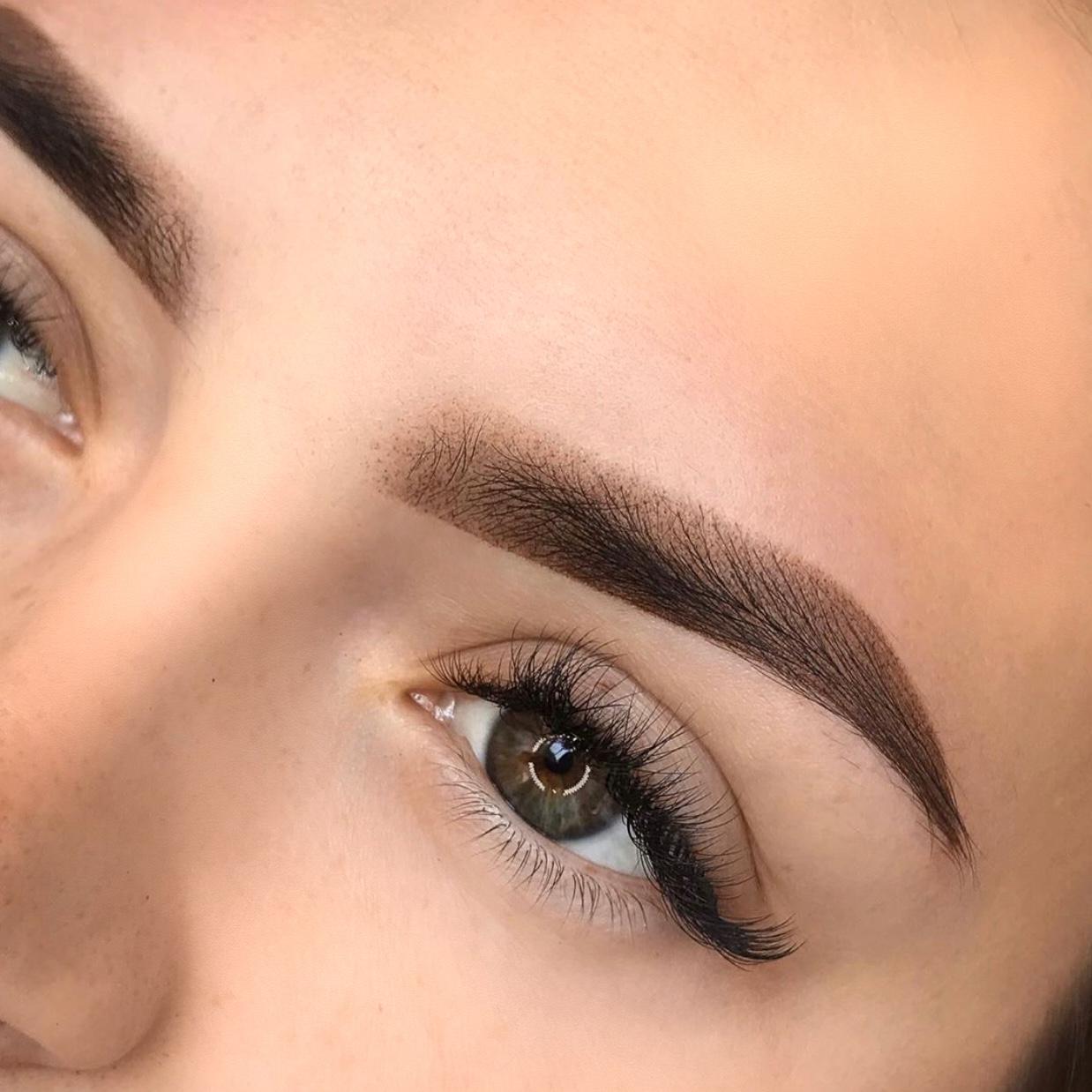 Перманентный макияж бровей: как делают, сколько держится и техники выполнения