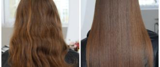 Холодный ботокс для волос: отличия от горячего способа